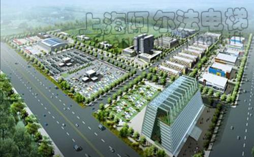 该项目拥有上海阿尔法电梯